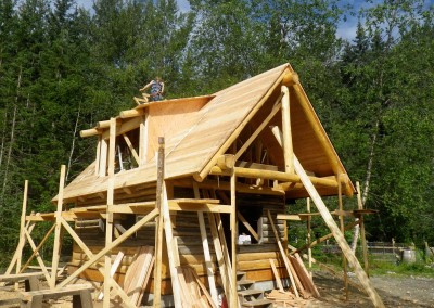 Bea cabin construction