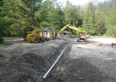 116-Water line installation