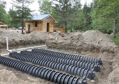 117-Septic field installation