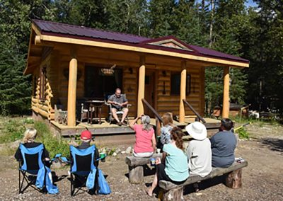 Gaylord Reading MJ Cabin