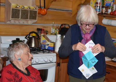 Rachel-Bea origami story